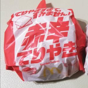 【マクドナルド】てりやきすぎてすみません!期間限定てりやきバーガー