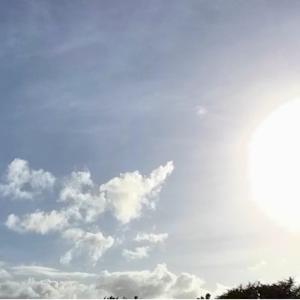 空にベールがかかった午後~☆~9.03/04【巻層雲】