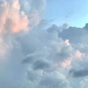 綺麗だった【はず】な朝焼け(笑)と壮大な雲景色…~☆~9.07/08