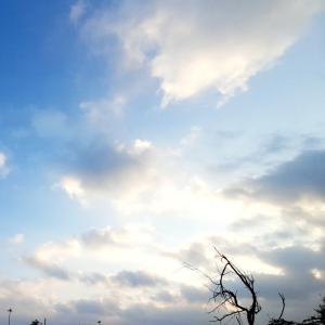 天の波動が変わった日 ?!~☆~9.25/26【アルバ島、安らぎの朝空】
