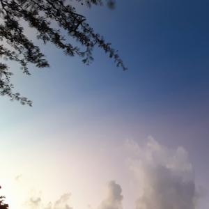 朝焼け空の不思議~☆~9.26/27【南カリブ海、アルバ島】