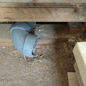 【ミニマリノベ大ピンチ中】水の元栓が閉まらないからリノベーションがすすまない