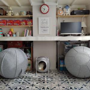 【バランスボール】腰痛主婦が椅子として使用中のインテリア的にもセーフなバランスボールはコレ