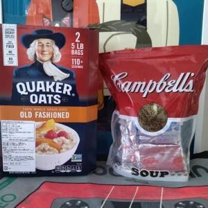 【コストコお買い物報告】1食68円!スープとオートミールで節約&ダイエット!
