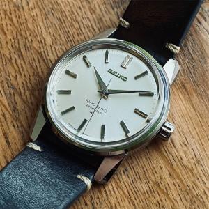 古いセイコーの機械式時計 ①44キングセイコー