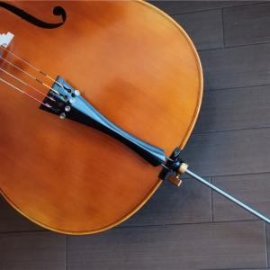 テールピースとエンドピンを交換して楽器のキャラが変わった