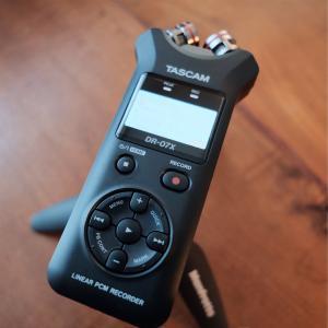 デジタルレコーダー TASCAM DR-07X