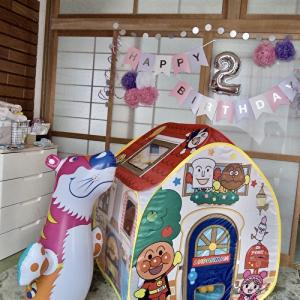 今日は同居してる孫娘の誕生日です。