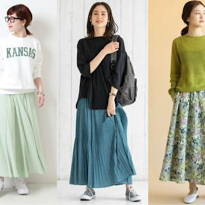 女子会におすすめの「華やかカラースカート」10選!トレンドを抑えたおしゃれな着こなしって?♡