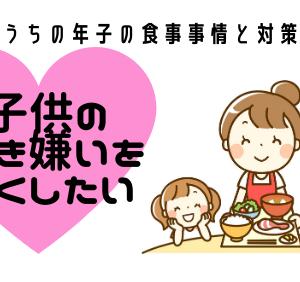 子供の好き嫌いをなくしたい!うちの年子の食事事情と対策。