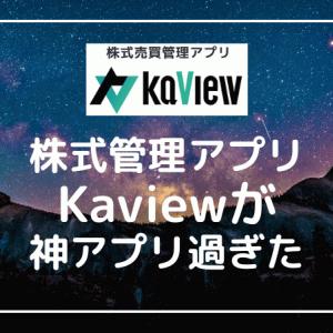 【Kaview】投資を楽しくする資産運用アプリの使用感は?