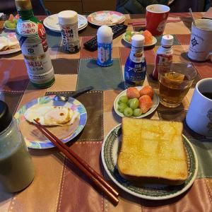 我家の飯 朝食 効用