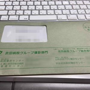 人間ドック 受診確認の督促 武田病院健康センター 優良