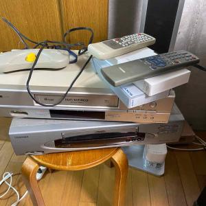 ビデオ(VHS・8ミリ・ミニDV)デッキの稼働確認