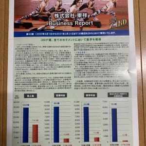 【東祥】(8920)株主優待到着報告【3月権利確定】