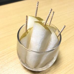 Twitterでバズったオススメの梨の食べ方は「スティック型」