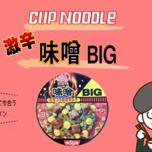 [激辛カップ麺レビュー]ご飯にとっても合う!日清 カップヌードル 激辛 味噌 ビッグ