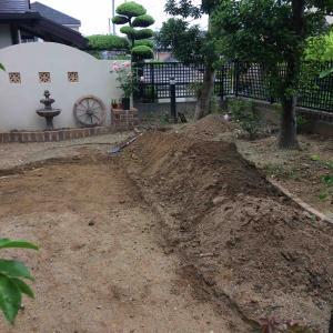 レンガの小道を作りたい!