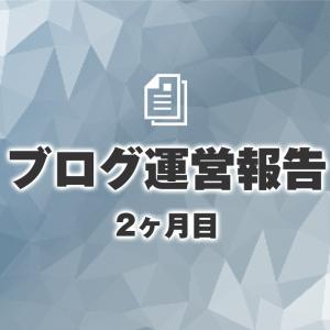 【ブログ運営報告】2ヶ月目のPVとポイ活の記録