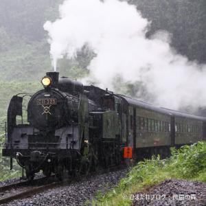 SL さくらんぼ号/雨天の2009年