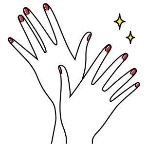 髪と爪って連動しているの?タンパク質を摂取して美髪と美爪を育てましょう!