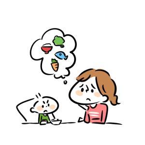 離乳食を食べないのって不安ですよね…でもマニュアルが全てではありませんよ~