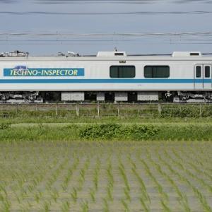 【コマ撮り】小田急検測車1051F+クヤ31
