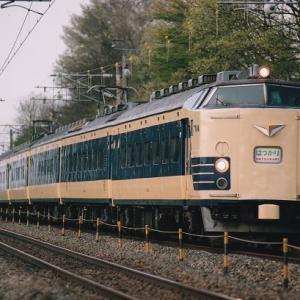 【プリント】2001年4月「思い出の583系はつかり」往路