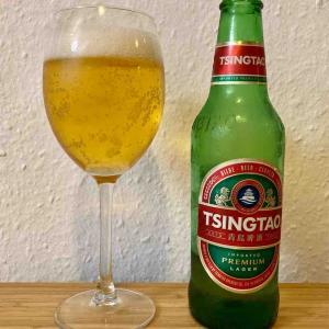ドイツで飲む青島