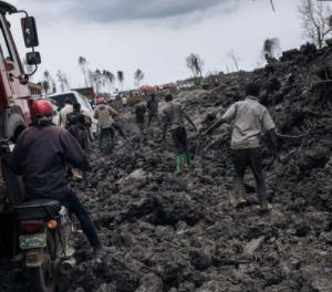 【ニーラゴンゴ火山】避難者40万人。