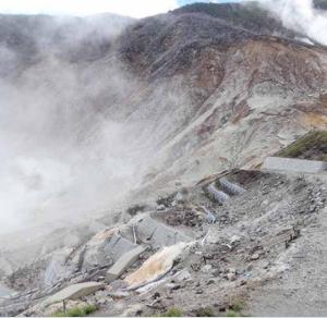 【箱根山】わずかな山体膨張を観測。