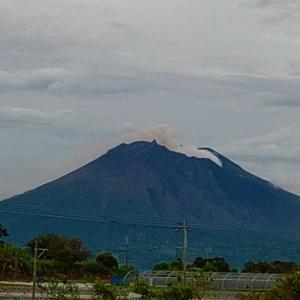 【桜島】山体膨張。