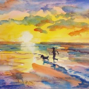 水彩画 ~壁に世界で一つだけの絵を~
