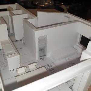 100均アイテムで建築模型を作ろう!