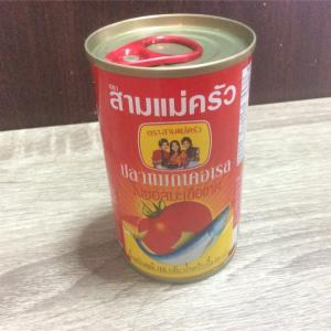 困った時のお助け品、イワシのトマトソース煮缶詰・プラーカポン