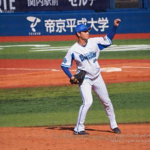 砂田毅樹 5回1イニング登板 ノーヒットピッチング 好リリーフ