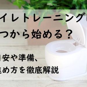 トイレトレーニングはいつから始める?目安や準備・進め方を徹底解説