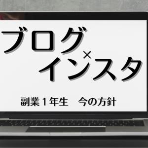 【ブログ×インスタ】副業1年目、時間配分と方針!