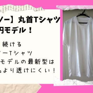 【ダイソー】300円丸首Tシャツの新製品「MEN'S Everyday wear」従来品より生地が厚くて透けにくい!