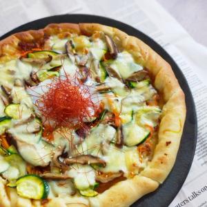 韓国風ピザ&ラッシーを一緒に作りませんか?