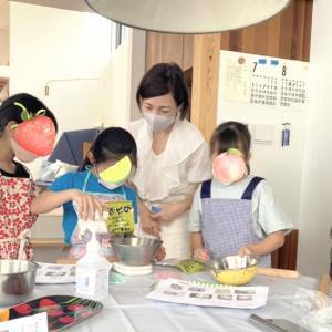 夏休み子供和菓子教室開催報告①