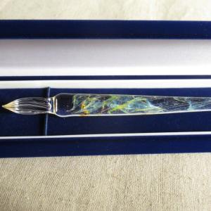 星空のガラスペンのミドルタイプ