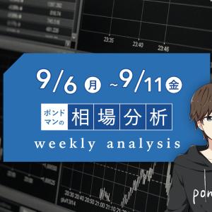 【9月6日週間分析】中央銀行の金融政策発表&要人発言でトレンド方向を確認しよう!!