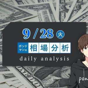 【9月28日】要人発言に注意!原油価格上昇による影響を確認しておきましょう!