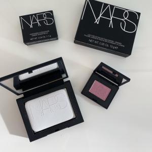 NARS購入品(やっぱり本家/ようやく似合うアイシャドウの色に出会えたような)