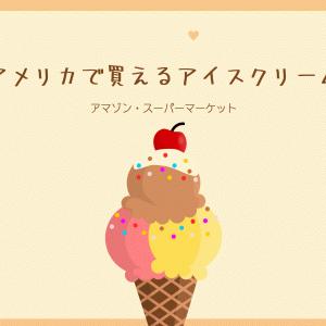 アメリカのスーパーやアマゾンで買えるおすすめのアイスクリーム3選