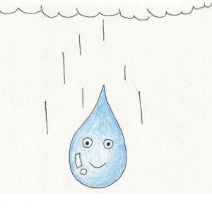★雨のしずく