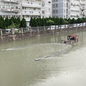 川の大掃除