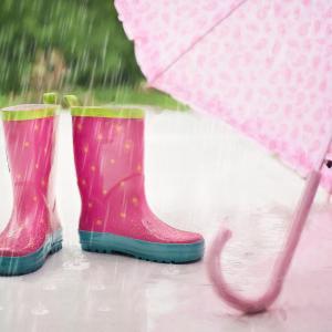 梅雨入り前にレインコートを購入