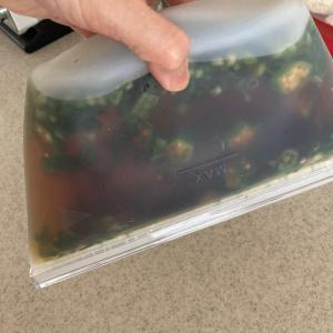 ダイソーのシリコン保存袋が便利すぎた